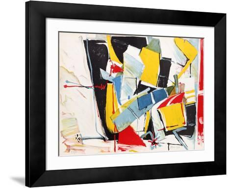 Untitled 8-Jasha Green-Framed Art Print