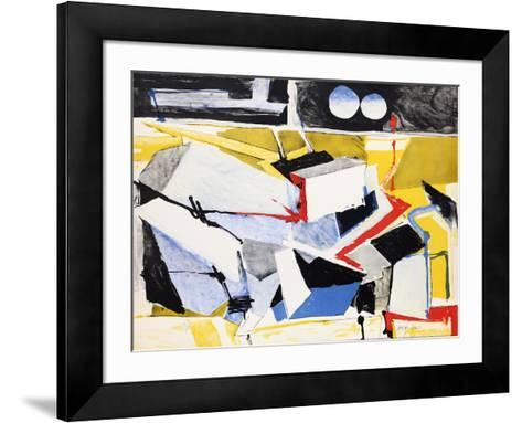 Untitled 11-Jasha Green-Framed Art Print