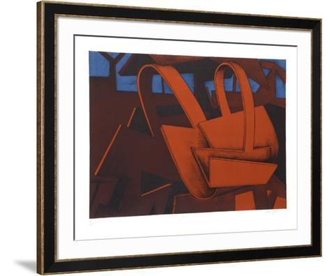 Untitled 32-Jasha Green-Framed Art Print