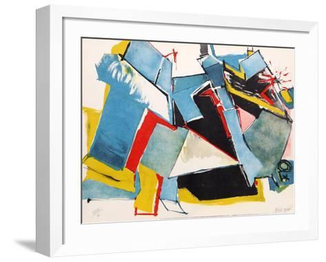 Untitled 12-Jasha Green-Framed Art Print