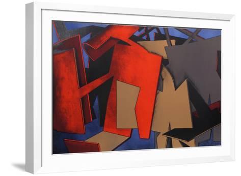 Untitled 24-Jasha Green-Framed Art Print