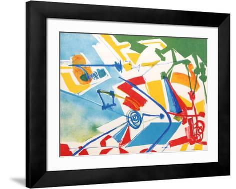 Untitled 2-Jasha Green-Framed Art Print