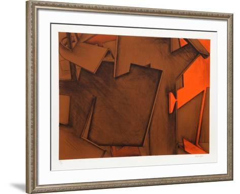 Untitled 17-Jasha Green-Framed Art Print