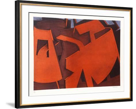 Untitled 28-Jasha Green-Framed Art Print