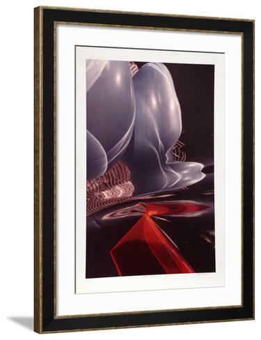 Phase Blue-Michael DeCamp-Framed Art Print
