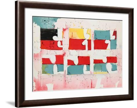 Untitled - Six Rectangles-Dimitri Petrov-Framed Art Print