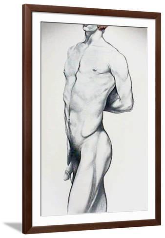 Male Nude 4-Lowell Blair Nesbitt-Framed Art Print