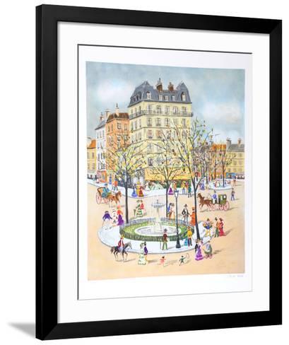 Fountain-Claude Tabet-Framed Art Print