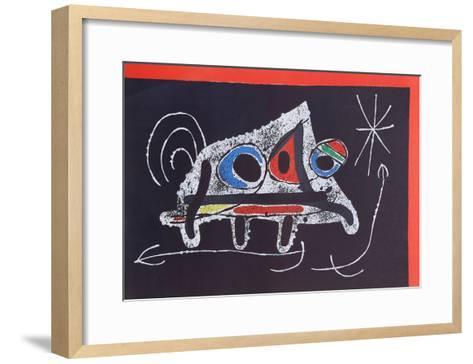 Le Lezard aux Plumes from Indelible Miro-Joan Mir?-Framed Art Print