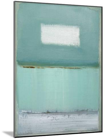 Azure Blue I-Caroline Gold-Mounted Art Print