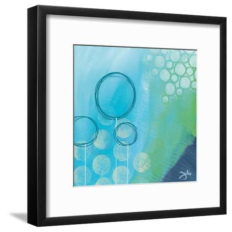 Bubble Toes-Julie Hawkins-Framed Art Print