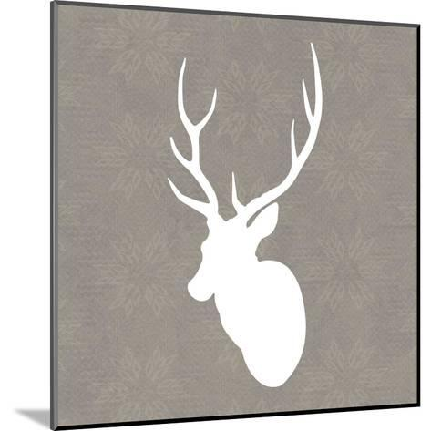 Buck I-Sabine Berg-Mounted Art Print