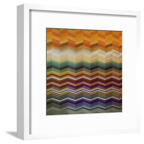 Color & Cadence II-Noah Li-Leger-Framed Art Print