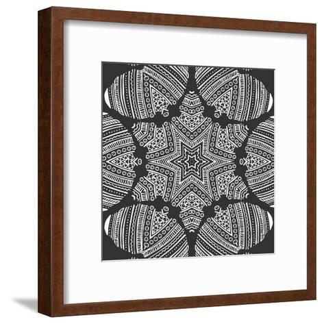 Kaleidoscope Duo I-Sabine Berg-Framed Art Print