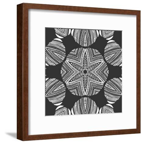 Kaleidoscope Duo III-Sabine Berg-Framed Art Print