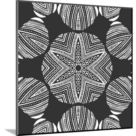 Kaleidoscope Duo III-Sabine Berg-Mounted Art Print