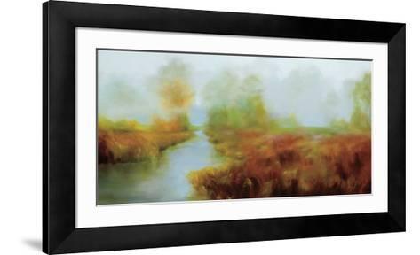 Fraser River Park-Tetiana Zakharova-Framed Art Print