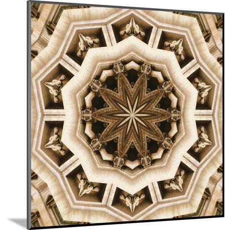 Trevi Fountain- LaGrave Designs-Mounted Art Print