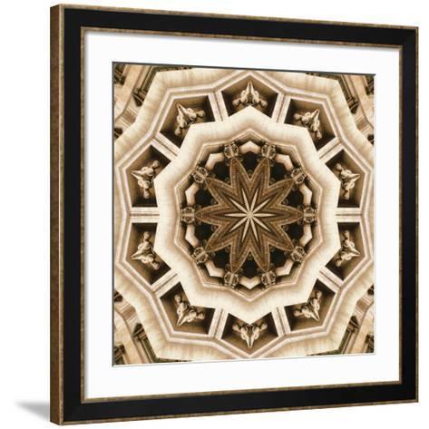 Trevi Fountain- LaGrave Designs-Framed Art Print