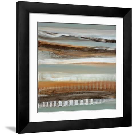 Silver Light I-Cat Tesla-Framed Art Print