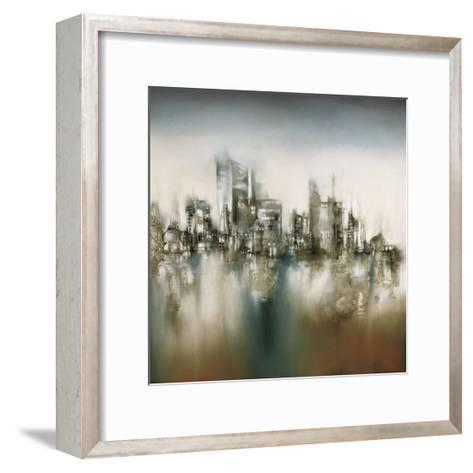 Urban Haze-J^P^ Prior-Framed Art Print