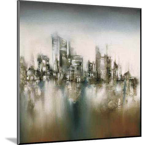 Urban Haze-J^P^ Prior-Mounted Giclee Print