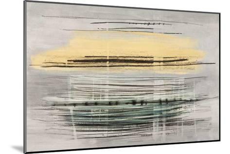 Sunrise Tracks-Drew Sims-Mounted Giclee Print
