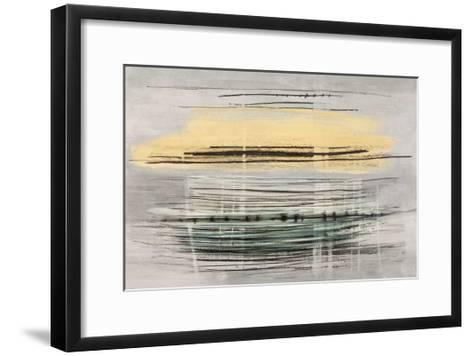 Sunrise Tracks-Drew Sims-Framed Art Print