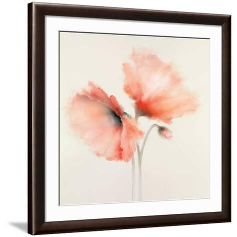 Pink Chiffon II-J^P^ Prior-Framed Art Print