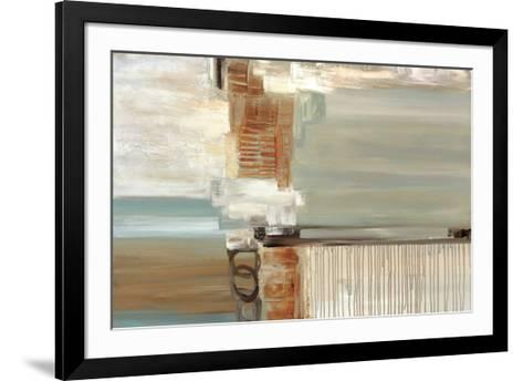 Chiffon-Cat Tesla-Framed Art Print