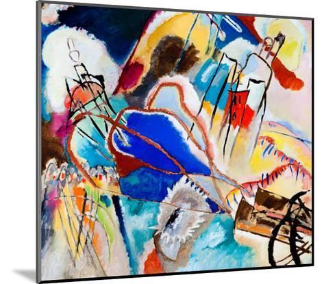 Improvisation No. 30 - Cannons (1913)-Wassily Kandinsky-Mounted Art Print