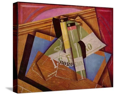 Still Life with Bordeaux Bottles, 1919-Juan Gris-Stretched Canvas Print