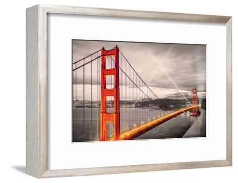 San FranciscoGoldenGateBridge--Framed Art Print