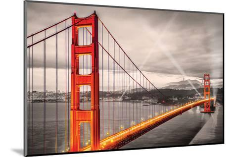 San FranciscoGoldenGateBridge--Mounted Art Print