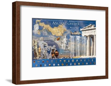 Ancient Greek--Framed Art Print
