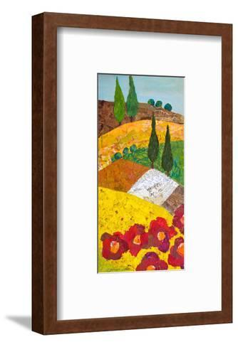 Tuscan Triptych A--Framed Art Print