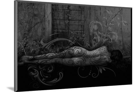 Dreamer in the Garden-Rosa Mesa-Mounted Art Print