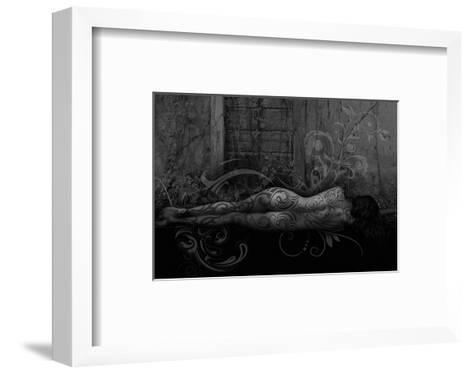 Dreamer in the Garden-Rosa Mesa-Framed Art Print