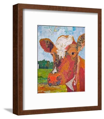 Contented Cattle II--Framed Art Print