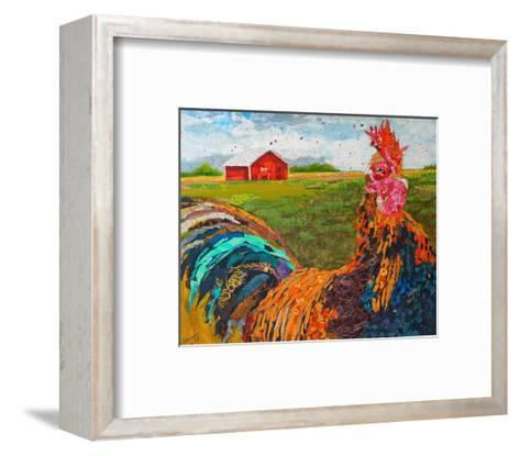 Coq De Bruyere--Framed Art Print