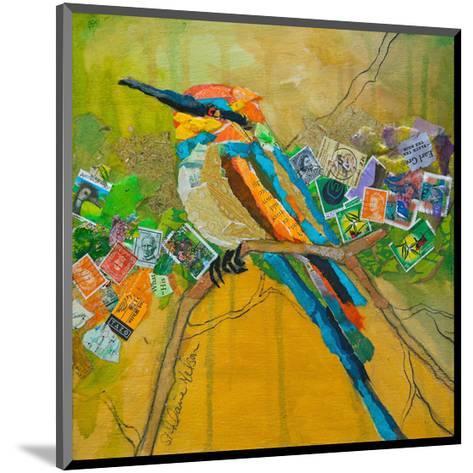 Rainbow Bee Eater--Mounted Art Print