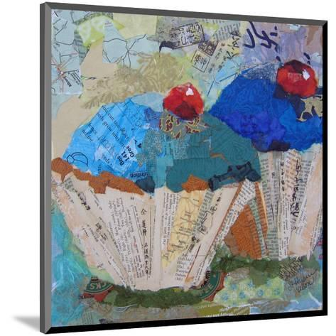 Two Blue 6X6--Mounted Art Print