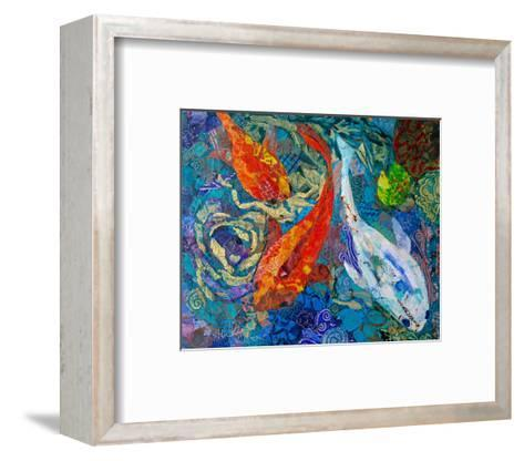 3 Koi--Framed Art Print