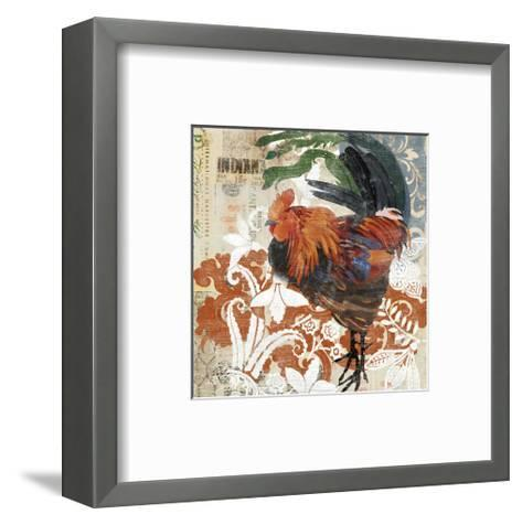 Rococo Rooster--Framed Art Print