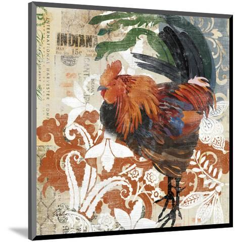 Rococo Rooster--Mounted Art Print