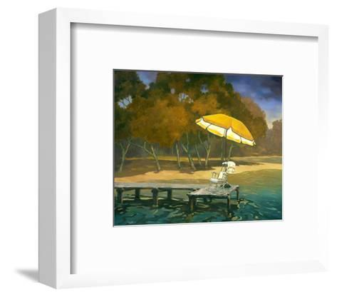 Evening Swim II--Framed Art Print