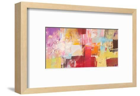 Copper And Red Series 5--Framed Art Print