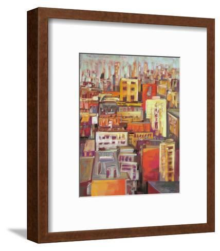 Orange Glow VII--Framed Art Print