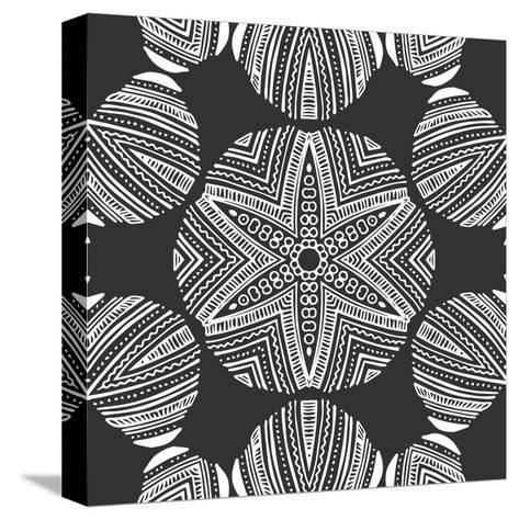 Kaleidoscope Duo III-Sabine Berg-Stretched Canvas Print
