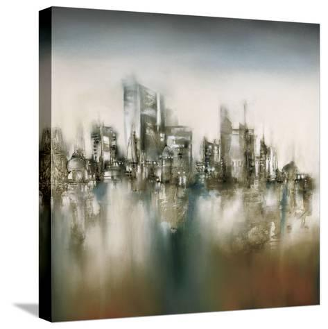 Urban Haze-J^P^ Prior-Stretched Canvas Print